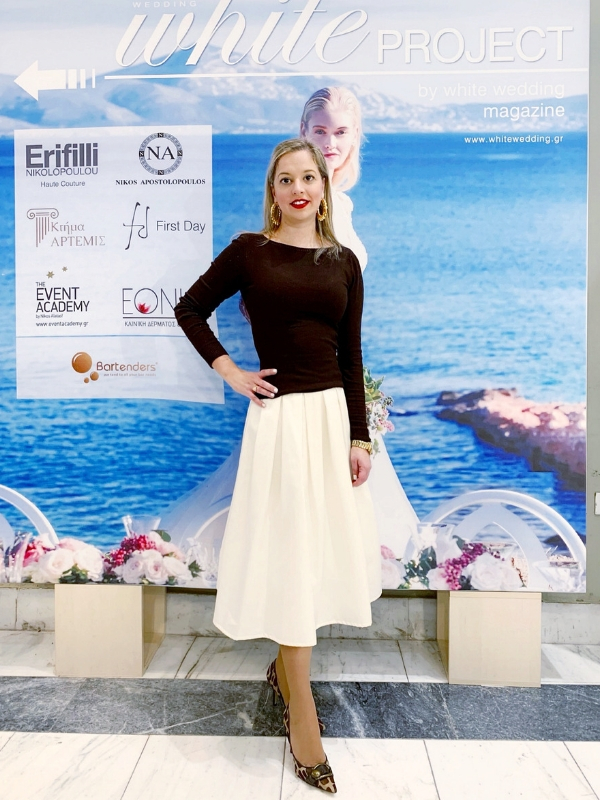 Outfit of the Day: Annabelle Moda full skirt for a chic and elegant look | Ioanna's Notebook #fashion #ootd #outfit #skirt #outfitinspiration