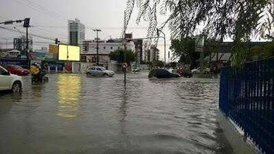 Aesa prevê tempo instável com chuvas para o setor leste da Paraíba nesta quarta