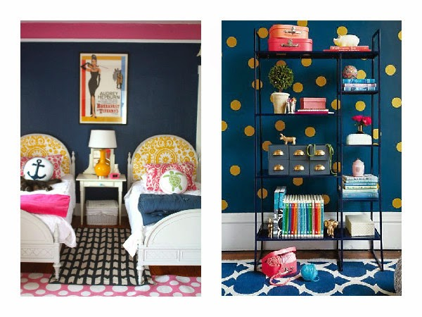 When It Comes To Decorating A Nursery For You Have Millions Of Options Peach Pinks Golds And Yellows Teals Not Many Moms Choose Navy Blue
