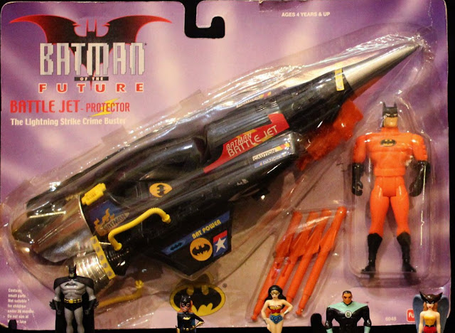 Funskool Super Man, Batman, Stilletto, Claw