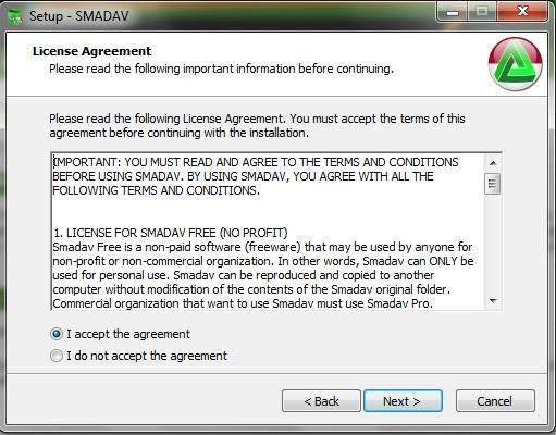 How to install SMADAV 2018 USB Antivirus in Easy Steps 4