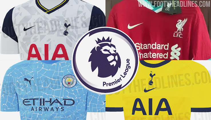 All Fully Leaked / Released Premier League 20-21 Kits So ...