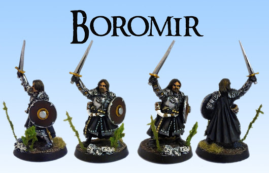 100th post - Armoured Boromir on foot! (Showcase)