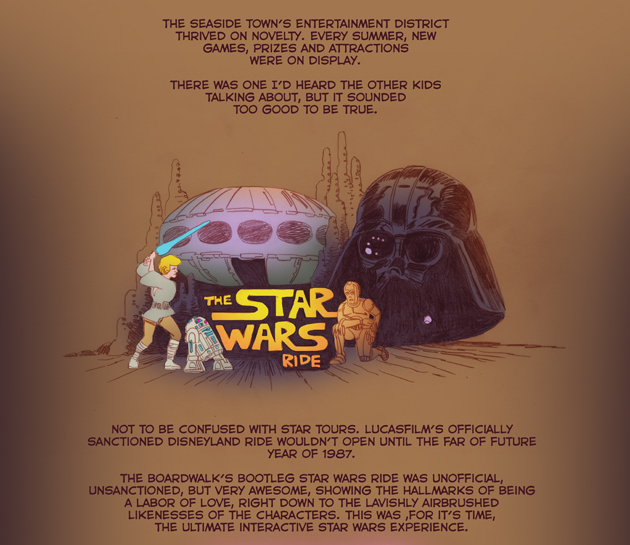 New Comics: Episode One: The Star Wars Ride by Tom Scioli.