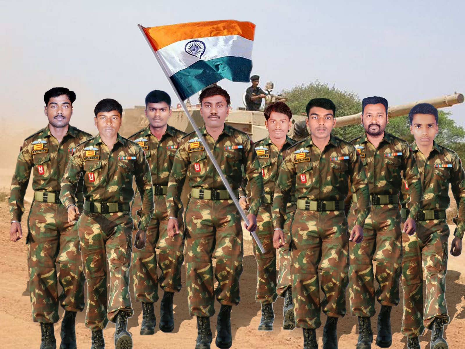 free indian army black - photo #22