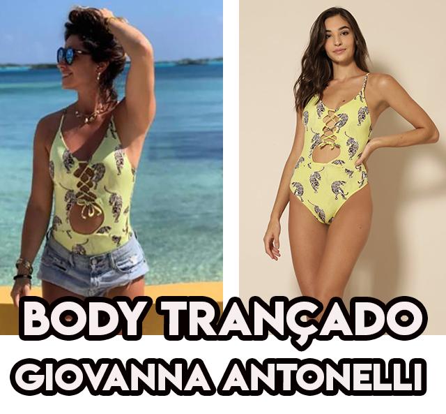 O Body Amarelo da Giovanna Antonelli