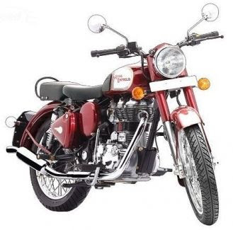 Royal Enfield Classic 350 front view Red Hd Wallpapers