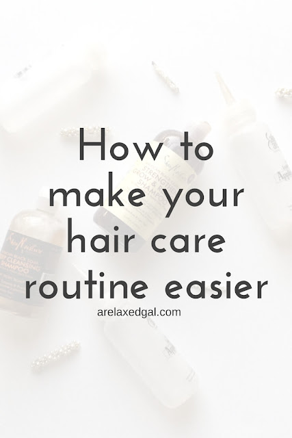 Hair tip: How to make your hair care routine easier | arelaxedgal.com