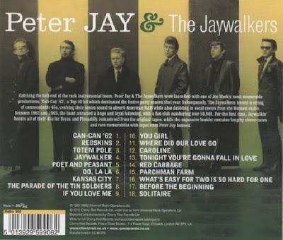 Peter Jay &The Jaywalkers - Jaywalkin' Singles 1962-1965