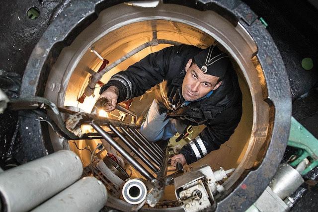 Meses bajo el agua: así es la vida en un submarino ruso