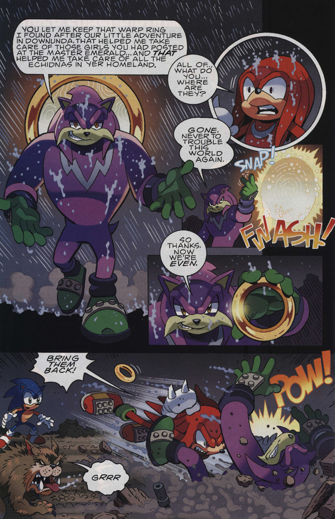 Read online Sonic The Hedgehog comic -  Issue #244 - 28