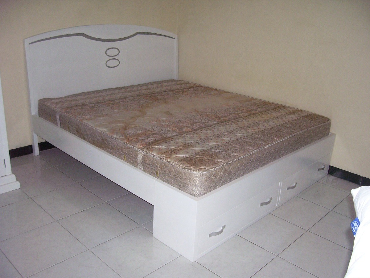 model tempat tidur dari kayu jati 3