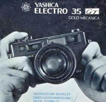 Iklan vintage Yashica 35 GT