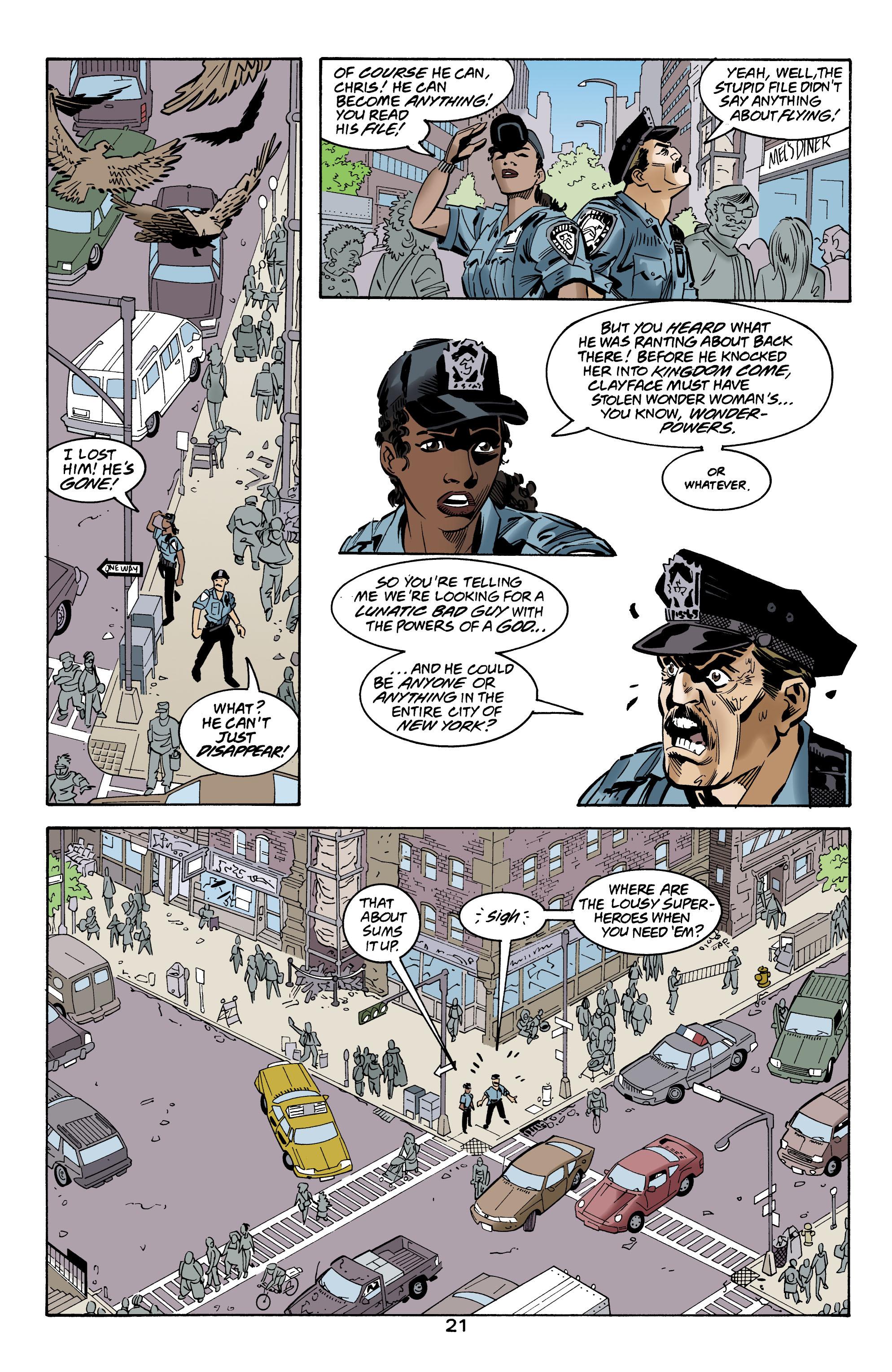 Read online Wonder Woman (1987) comic -  Issue #160 - 22