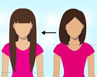 حيل بسيطة لجعل شعرك طويلا جدا خلال وقت قصير