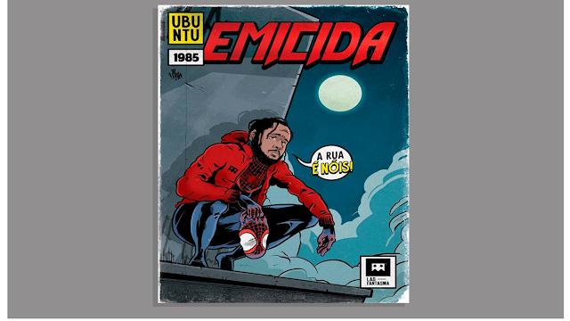 """Projeto """"Rap em Quadrinhos"""" vai ilustrar 10 personalidades do rap nacional."""
