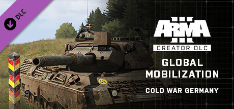 Arma 3 - Global Mobilization Cold War Germany + All content and DLC