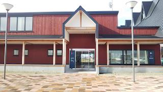 「北欧の風 道の駅とうべつ」トイレ入り口