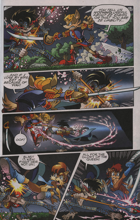 Read online Sonic The Hedgehog comic -  Issue #204 - 8