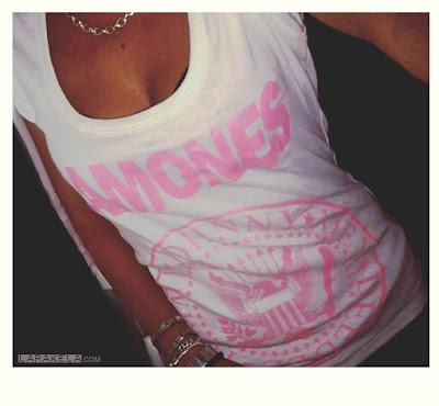 Ramones t-shirt tee camiseta de chica