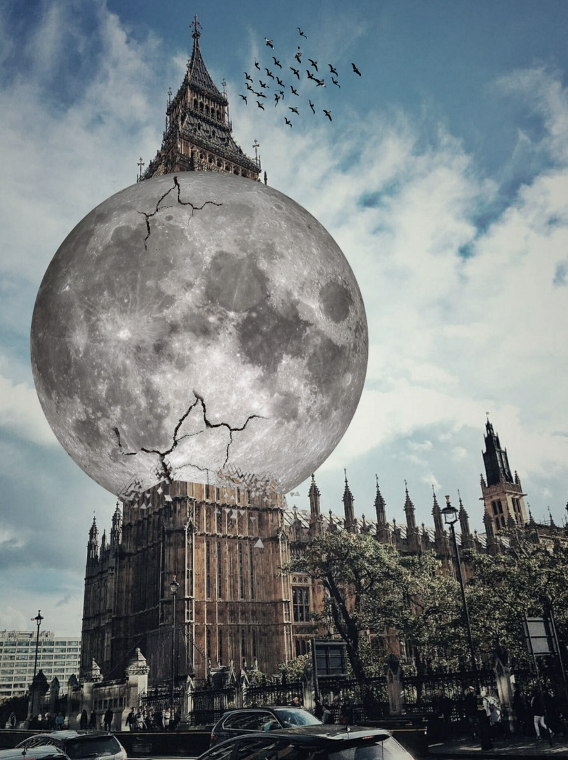 02-Big-Ben-Holds-the-Moon-Ömer-Taşdemir-Different-Point-of-View-with-Surreal-Photo-Manipulation-www-designstack-co