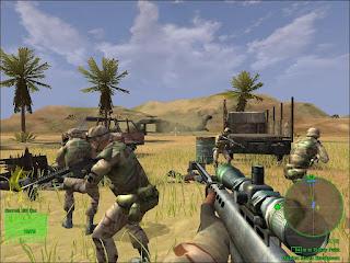 تحميل لعبة الاكشن Delta Force Black Hawk Down لمحبي الاسلحة والقتال