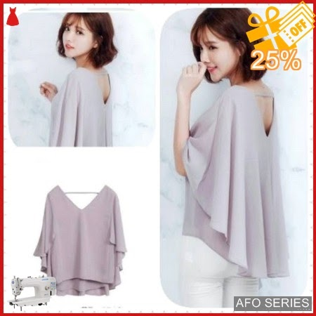 AFO445 Model Fashion Venita Grey LD 100 P Murah BMGShop