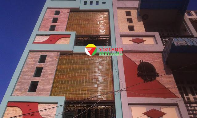 Rèm tre trúc chính là bước đầu bảo vệ ngôi nhà khỏi nắng mưa, bụi,..