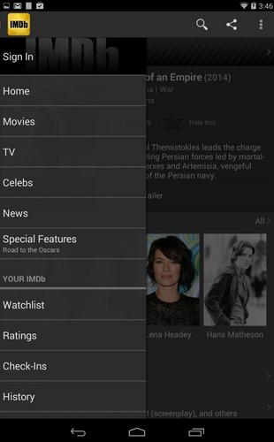 IMDb Movies & TV - Aplikasi TV Di HP Android Terbaik Gratis