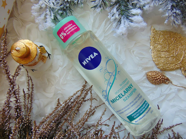 Nivea - Dogłębnie oczyszczający micelarny szampon