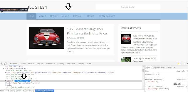 Cara Menghilangkan Bagian Tertentu Pada html