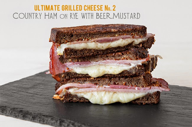 Image for a list of the Ultimate Grilled Cheese recipe.