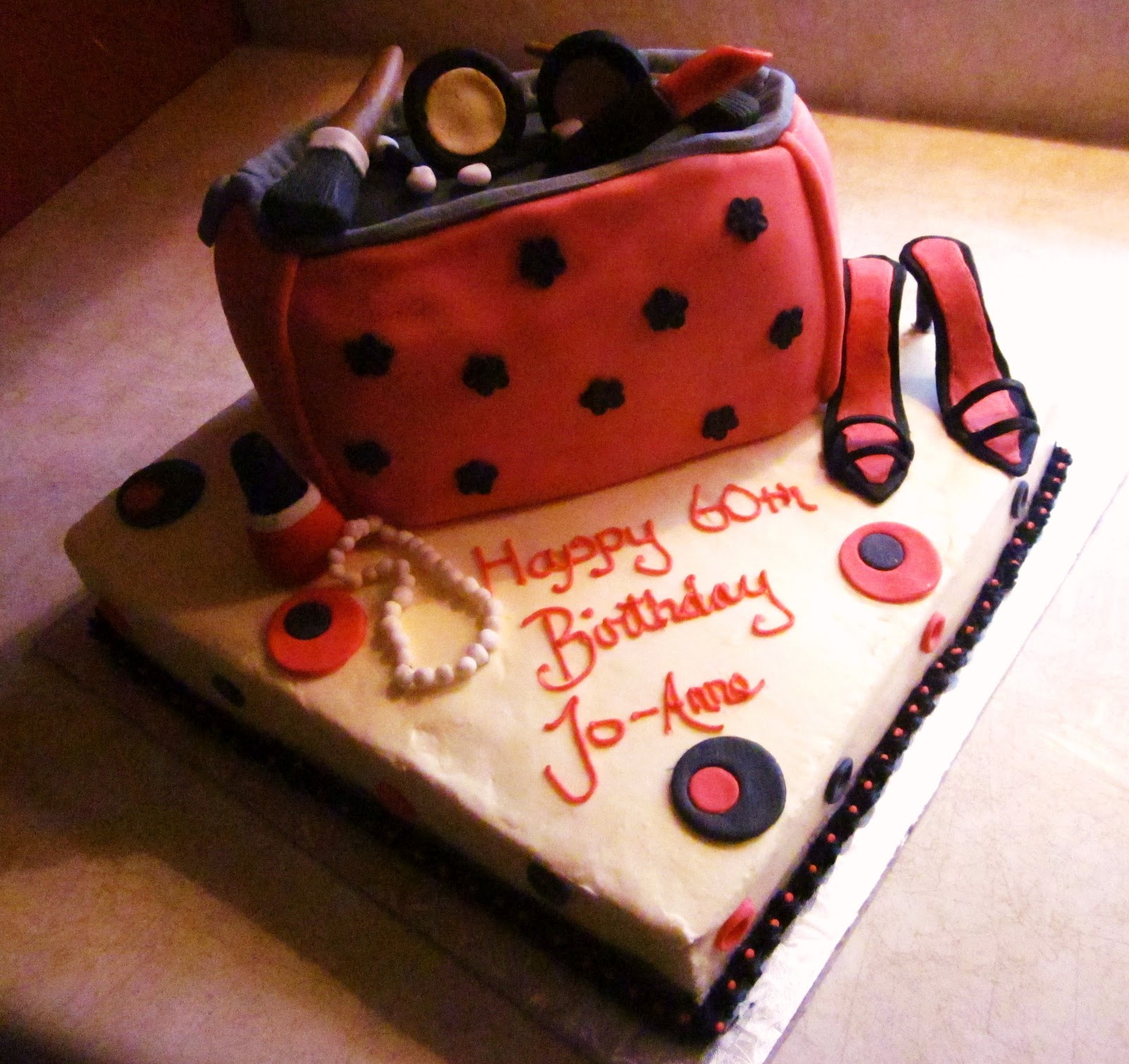 Second Generation Cake Design Makeup Birthday Cake