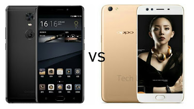 Gionee M6S Plus Vs OPPO F3 Plus : Price ,Specs , Features Comparison
