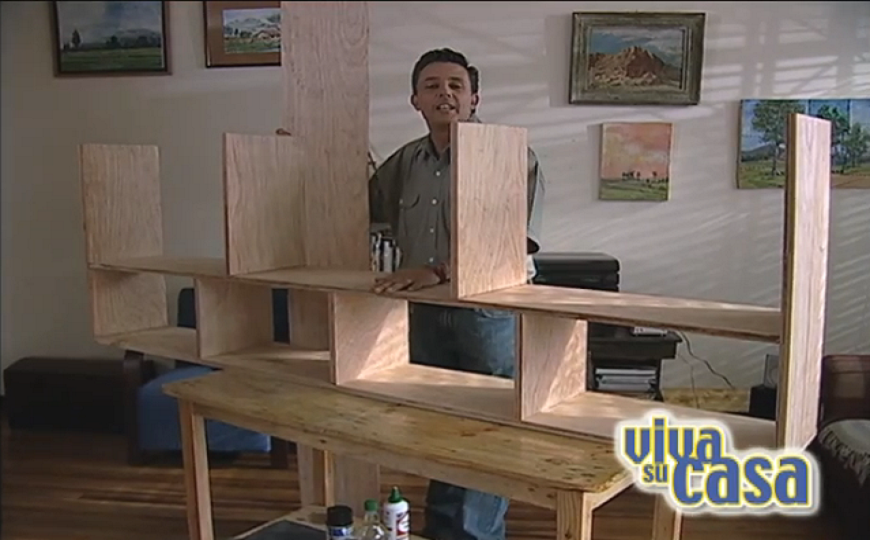 Fabricaci n repisa estante de madera 2016 - Como hacer estantes de cocina ...
