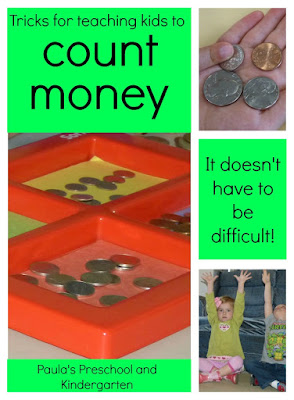 This post has lots of fun ideas and activities to help teach children how to count coins. Great for both parents and teachers!