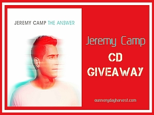 Jeremy Camp The Answer CD Giveaway