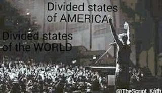 The Script Lyrics - Divided States Of America