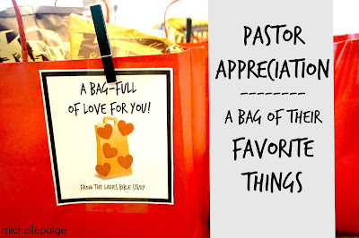 Ideas for Pastor Appreciation