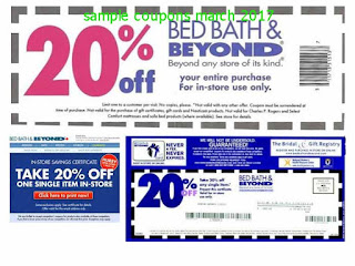 free Bed Bath and Beyond coupons march 2017