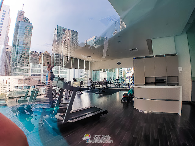 Gym Room at Ramada Suites KLCC