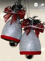 http://manualidadesreciclajes.blogspot.com.es/2016/12/campanas-con-botellas-de-plastico.html
