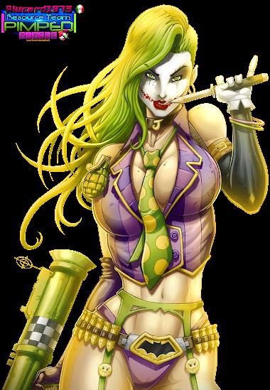 png Joker Girl