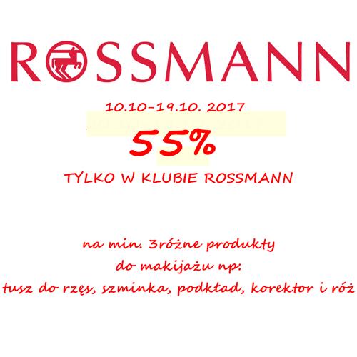 Promocja na kolorówkę w Rossmannie! Październik 2017