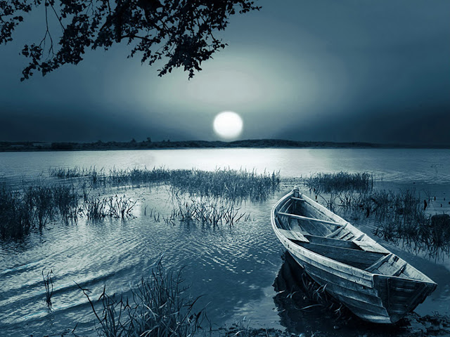 Thơ về trăng, Tặng bạn chùm thơ về trăng buồn đêm khuya