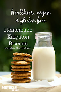 Gluten Free Kingston Biscuits Recipe Vegan