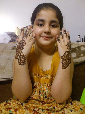 kids Mehndi for Hands