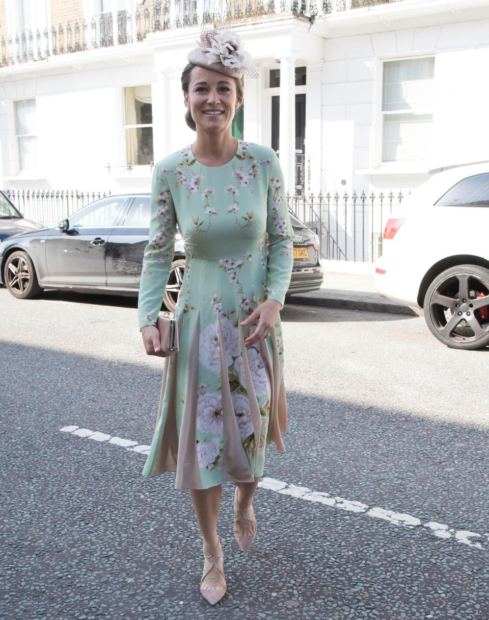 Pregnant Pippa Middleton arrives for Prince Harry and ... - photo#4