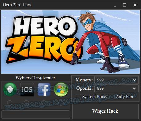 Hero Zero Hack na Oponki i Monety