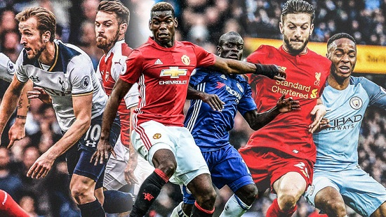 Ngoại hạng Anh mùa giải 2018-2019 với 20 đội góp mặt.